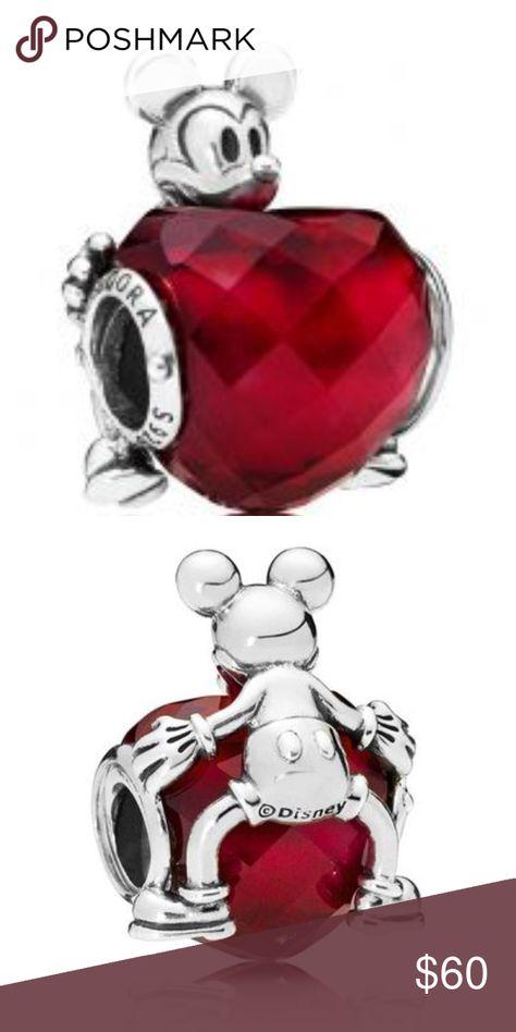 Spotted while shopping on Poshmark: Pandora Disney Mickey Love Heart Charm! #poshmark #fashion #shopping #style #Pandora #Jewelry