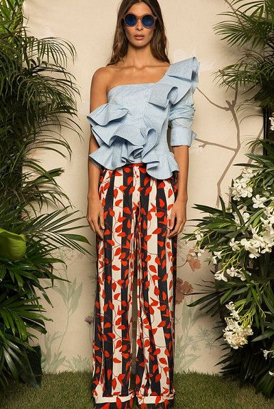 Jazz It Up With Prints - How to Wear Ruffles Without Looking Like a Toddler - Photos
