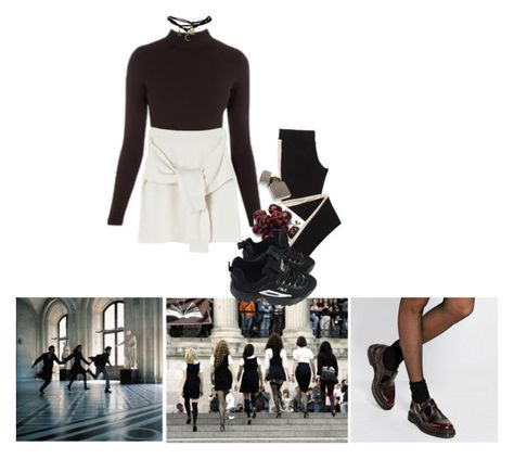 """""""academia"""" by aphrodietea ❤ liked on Polyvore featuring Fila and Wet Seal"""