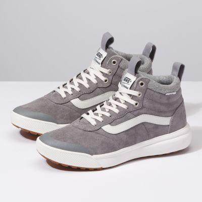 vans ultrarange hi grey