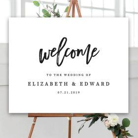 Free Wedding Welcome Sign Template Black And White Editable Printable Market Free Wedding Printables Signs Free Wedding Printables Printable Wedding Sign