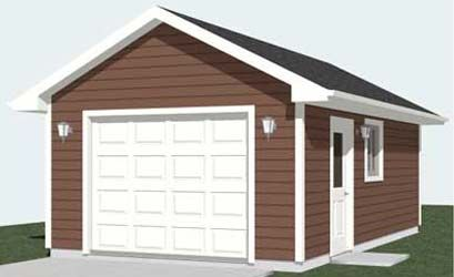 Behm Design Shop 1 Car Garages Plans Today Garage Plan Garage Plans Car Garage
