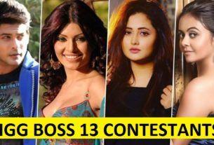 Bigg Boss 13 Contestants Instagram Music Boss Bollywood