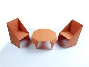 Origami Furniture-How to Make a paper Bed origami instruction step ...   217x290