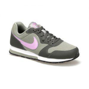 Nike Nike Md Runner 2 Gs Gray Lila Women Sneaker Shoes Shoes World Womens Sneakers Shoes World Sneakers
