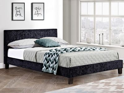 Simple Low Bed Frame Chocolate Low Bed Frame Low Bed Black