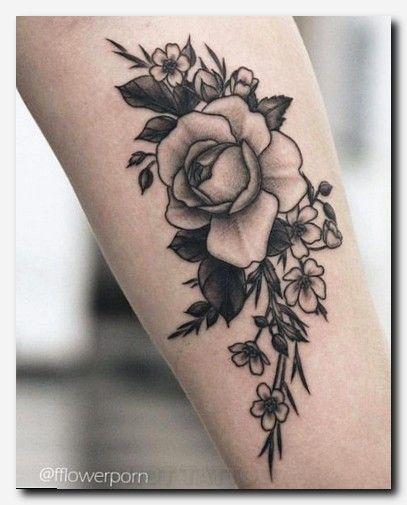 50 Enchanting Flower Tattoos For Fall Hot Tattoo Flower Tattoos Tattoos Black And Grey Rose