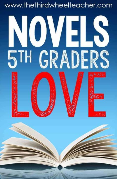 Looking for the best books for graders? This list includes my 20 favorite novels to use for novel studies, literature circles, or book clubs with your fifth-grade classroom. I've included a short summary and links to instructional resources for each. 5th Grade Books, 5th Grade Reading, Kids Reading, Teaching Reading, Teaching Ideas, Guided Reading, Third Grade, Teaching Literature, Fifth Grade Writing