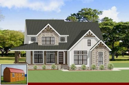Metal Roofing Standard Colors And Metal Roof Color Combinations In 2020 Craftsman House Plans Craftsman House Craftsman House Plan