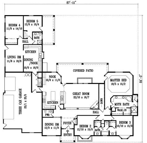 36 Ideas For House Plans With In Law Suite Multigenerational House Plans House Plans One Story Inlaw Suite