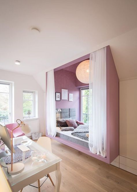 Chambre des filles maison w: kinderzi - #chambre #chambreacouchermoderne #des #filles #kinderzi...