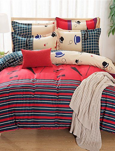 Jt Bedding Bed Linings Brushed Cotton Super Soft Aloe Cartoon Family Of Four Bedding Linen Quilt Bedding Set Queen Quilt Sets Bedding Bed Cheap Bedding Sets