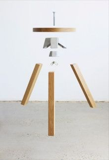 ... Dhos stools are self-assembled seats composed of four triangular bent  wood panels. From Usobhita. | Pinterest | Stools, Woods and Transforming  furniture