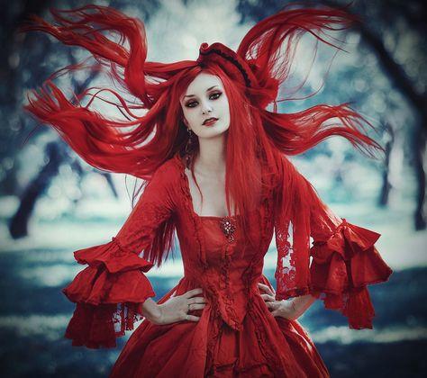 АКЦИЯ...Как он//она ко мне относится 41bda34087a44f16b396a84f27b74191--gothic-beauty-gothic-art