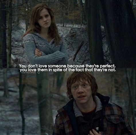 You love them because they aren't perfect. on We Heart It