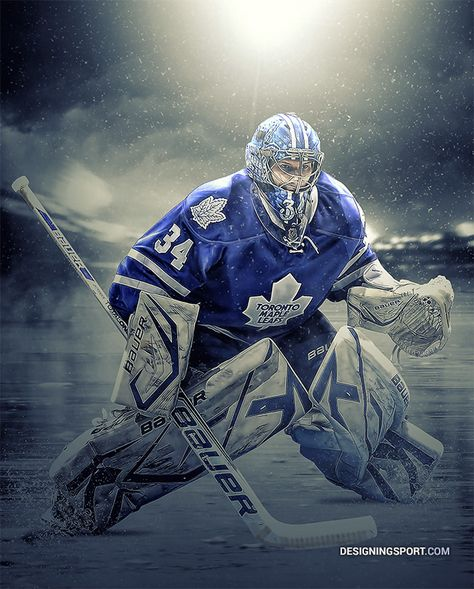 James Reimer, Toronto Maple Leafs - Designing Sport