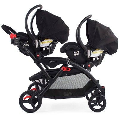Tandem Stroller Baby Strollers, Double Strollers With Car Seats
