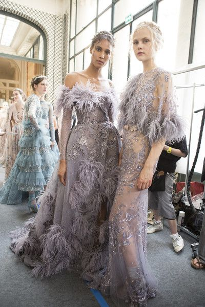 Zuhair Murad Couture, Fall 2017 - The Most Beautiful Backstage Photos From Paris Couture Week - Photos