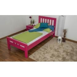 Reduced Youth Beds Children 039 S Bed Youth Bed Easy Premium Line K8 Solid Beech Wood Painted Pink Lying Surf In 2020 Childrens Beds Baby Boy Room Decor Bed