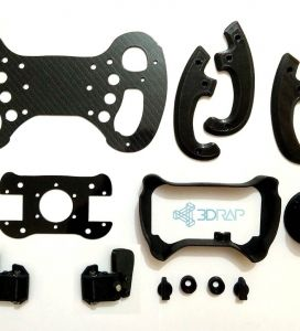 GT3 Steering Wheel KIT by 3DRap - Thrustmaster Logitech and