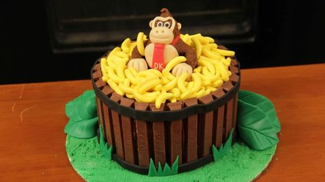 Donky kong cake
