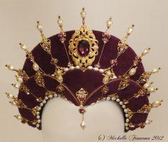 Persephone—Designed in celebration of the Renaissance Pleasure Faire Golden Jubilee. Created by Michelle Fennema