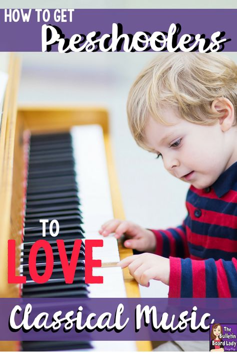 How to Get Preschoolers to Love Classical Music