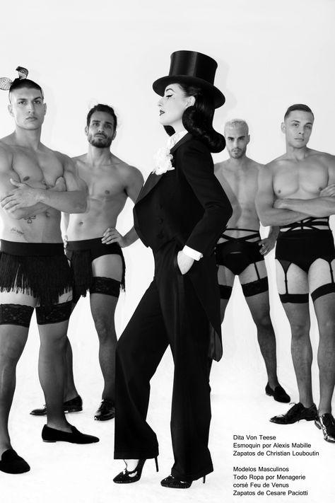 Entrevista y fotos con la reina del burlesque, Dita Von Teese