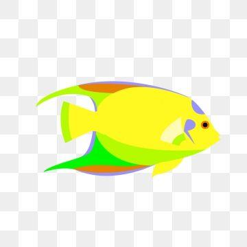 Warm Color Ocean Cartoon Fish Tropical Fish Png And Clipart Cute Fish Cartoon Fish Fish Clipart