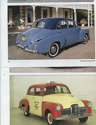 1948 1956 Holden 10 Pg Color Article Australia In 2020 Holden Australia Parts And Accessories