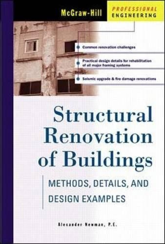 Structural Renovation Of Buildings Methods Details Design Examples Methods Details And Design Examples Mcgraw Hill Professional Engineering Mcgraw Hill Education Mcgraw Hill Renovations