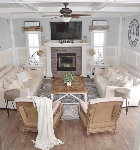 47 Coolest Design Layout Ideas for Living Room · fashionesense.com #livingroom #livingroomideas #livingroomdesign