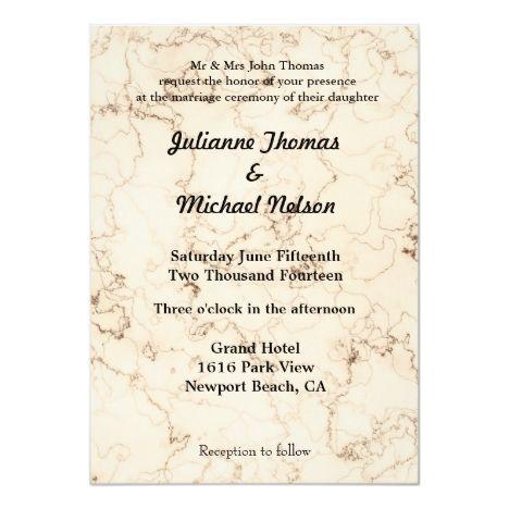 Verse Wedding Invitations