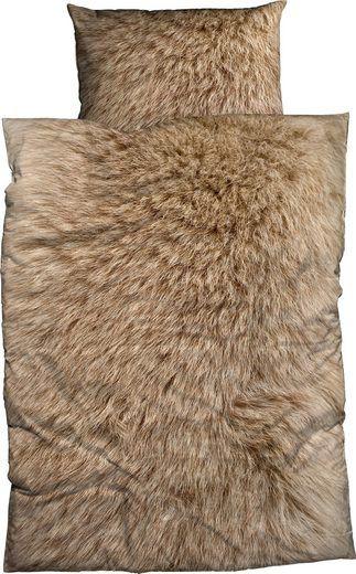 Bettwasche Animal Fur Casatex Mit Felloptik Bettwasche Bett
