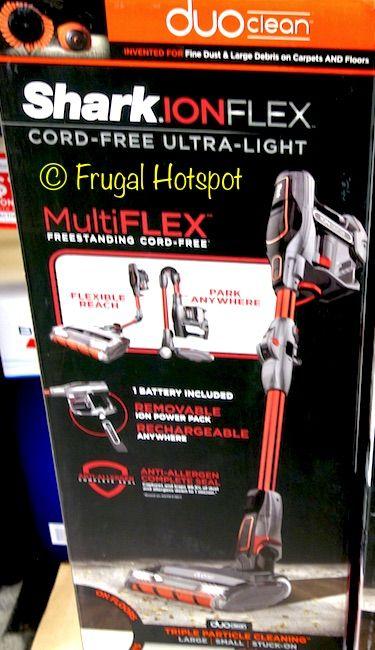 Costco Sale Shark Ion Flex Cord Free Vacuum 229 99 Hot Spot