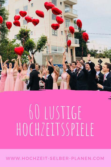 60 lustige Hochzeitsspiele für das Brautpaar / Ratgeber
