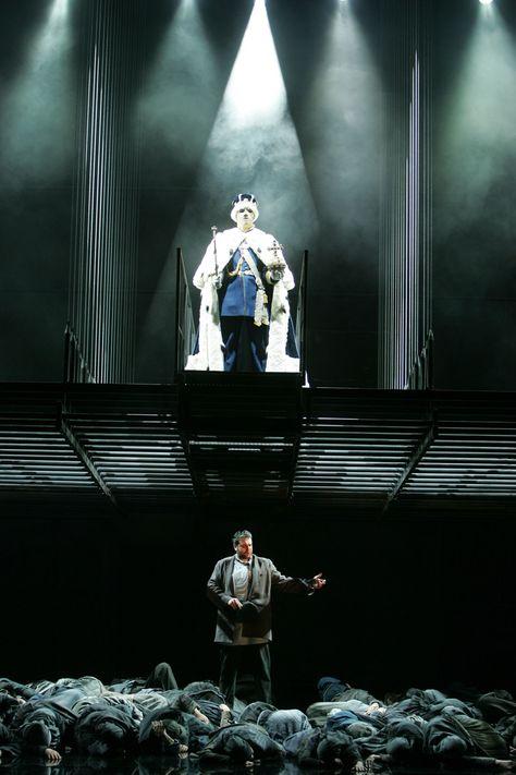 Boris Godounov en scène au Théâtre du Capitole à Toulouse