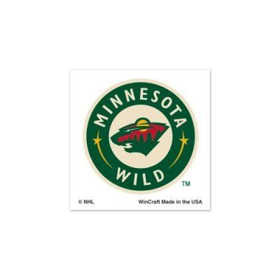 """MINNESOTA WILD OFFICIAL LOGO TATTOOS by NHL. $4.94. Officially licensed by the Minnesota Wild. Top Quality, Manufactured by Wincraft. Officially licensed by the NHL. You get FOUR cool temporary tattoos in this set. Each measures 1"""" by 1"""". Perfect for the arms, face, or chest. Easy to apply. Takes only about 30 seconds. Easy to remove using rubbing alcohol or baby oil. Vibrant colors and crisp graphics. Official team logos and colors. Officially licensed by the le..."""