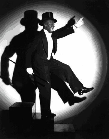 Bill Robinson tap dancing
