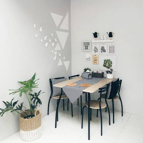 desain ruang makan minimalis sederhana | desain ruang
