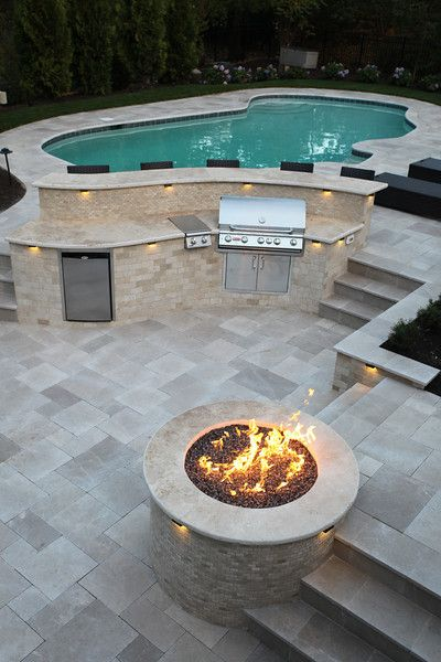 backyard remodel The POOL ARTIST - I, Brian T. Stratton am an award winning Landscape Architect specializing in artistic and one-of-a-kind Pool Designs. I am happy to do your Pool Des Backyard Pool Landscaping, Backyard Patio Designs, Swimming Pools Backyard, Swimming Pool Designs, Patio Ideas, Pool In Small Backyard, Landscaping Ideas, Semi Inground Pools, Above Ground Pool Landscaping