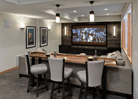 45 Inexpensive Small Movie Room Design Ideas For FamilyInexpensive Small Movie Room Design Ideas For Family room movie theater set upLiving room movie theater set Best Small Movie Room Design For Your Happiness Basement Makeover, Basement Renovations, Home Renovation, Home Remodeling, Basement Plans, Bathroom Remodeling, Home Theater Rooms, Home Theater Design, Small Movie Room