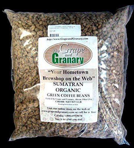 Sumatran Organic Unroasted Coffee Beans 5lb This Is An Amazon Associate S Pin Locate The I Organic Green Coffee Beans Beans