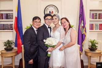 Tommy Jaja Civil Wedding In Supreme Court Of The