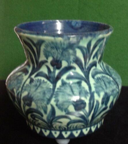 Bushey Heath Pottery Vase William De Morgan Pottery Vase Vase Pottery