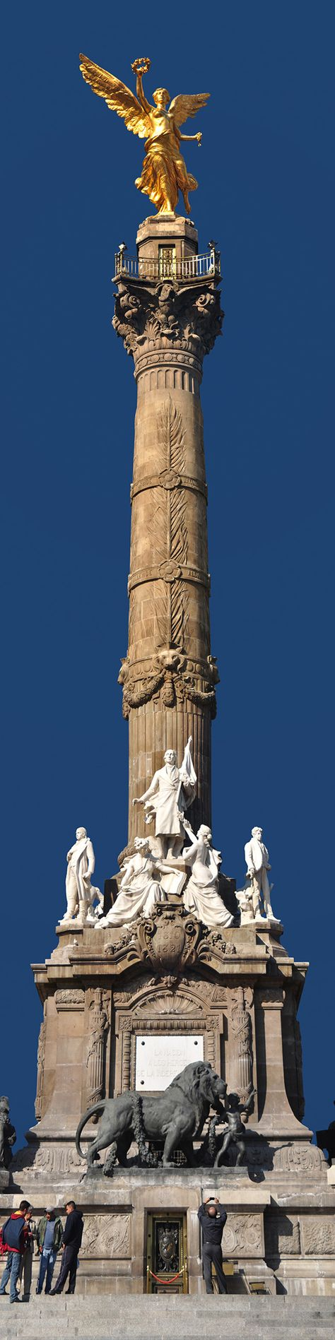 Angel de la Independencia by Jorge Carlos Alvarez, via Behance
