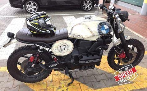Bmw Bmw K75s Cafe Racer Bmw K Auto A Case In Vendita