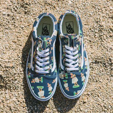Digi Hula Old Skool | Shop Classic Shoes | Vans, Shoes, Sneakers