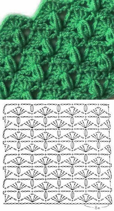 60 Puntos Fantasía En Crochet Con Muestras Ganchillo Patrones Punto Ganchillo Ganchillo Crochet
