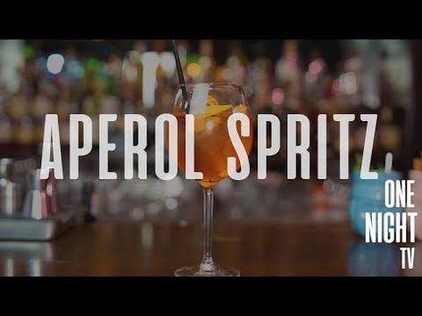 OneNight Kokteyl  Aperol Spritz Kokteyl Tarifi